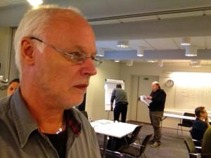 Börje Peratt håller ledarskapsutbildning