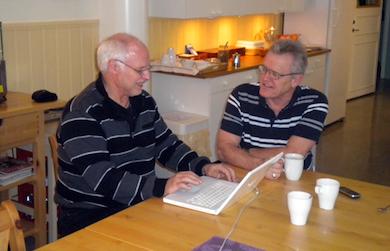 Börje Peratt intervjuar Terry Evans